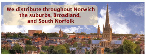 Forethought Marketing and we offer the highest quality leaflet distribution service to Norwich and it's surrounds.